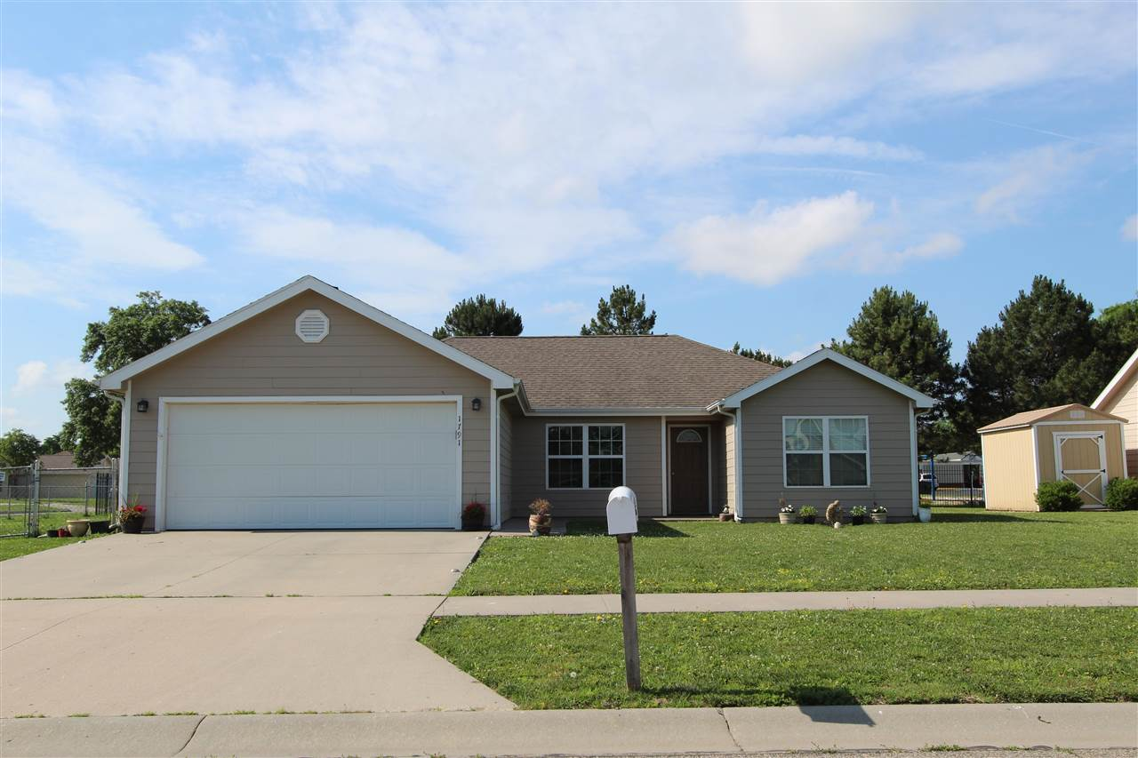 Spacious 3 bedroom, 2 bath with attached two car garage home is waiting for a new family.  Well maintained home with Lifeproof flooring.  Home has split floor plan which is master bedroom with master bath on one side and two other bedrooms on the other side of the house. Kitchen with island and dining area.  Nice size yard is perfect for out door activities. Close to Ft. Riley and Milford lake.  Current lease ends July 15, 2021.  Contact Kim Portillo at 785-209-8246 for more information or viewing.