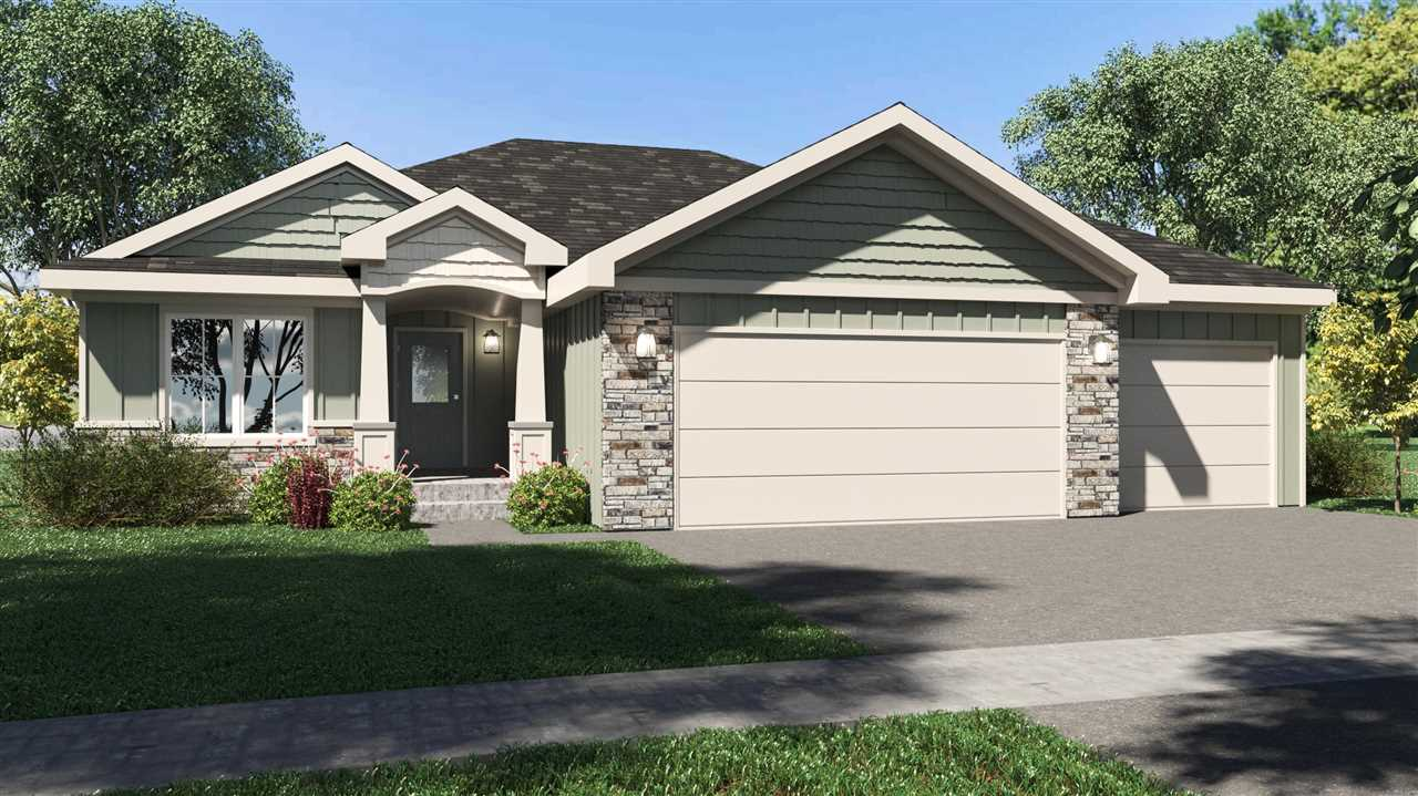 NEW 3BR, 2BA, ranch by Drippe Homes w/lower level familyRM finished at asking price, w/option for 2 more conforming BR's (5 total) and +1 bath to be finished in lowerLVL daylight full-basement. Located in NEW Oliver Brown ElemSchoolDist. Superb curb appeal & on-trend styles! Nice backyard on .22 acre lot, w/covered deck w/overhead fan, walks-off from kitchen/dining combo. Open floor plan & vaulted ceiling in main area displays floor-to-ceiling focal point w/electric linear fireplace. MstrBR features wood accent wall & walk-in closet, & MstrBA w/dual sink Onyx vanity, walk-in tile shower. Kitchen w/granite countertops, center eat-in island & stylish backsplash, Steel-gray color custom cabinetry, satin nickel hardware, farmhouse sink, Stainless GE appliances included. High quality details throughout, upgraded trim & door packages, hard surface floors in main areas. Insulated 3car Garage. TONS of storage! Near Hwy24 & PottCountyLake. EnergyEfficient.Taxes Est. for 2021. Completion in Oct.