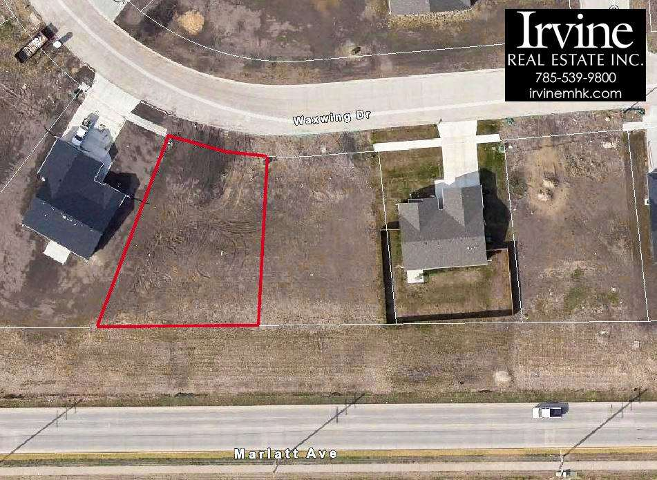 Wonderful lots to build your first home on! Close to KSU and shopping areas.  Water and Sanitary Sewer specials will be paid upon closing. See the listing office for details. Only a few lots remaining! Call John or Mary Beth Irvine for more information: 785-539-9800