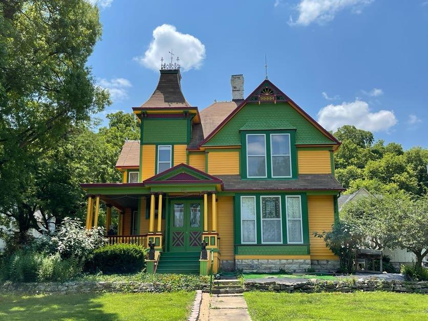Welcome home to this beautiful, nicely updated Victorian home in Waterville, KS. This home features 6 bedrooms, one non-conforming, 2 baths, and fully restored kitchen, bathrooms, laundry, parlor, formal dining, living room and so much more! Call Megan for your private tour today! 785-562-7032