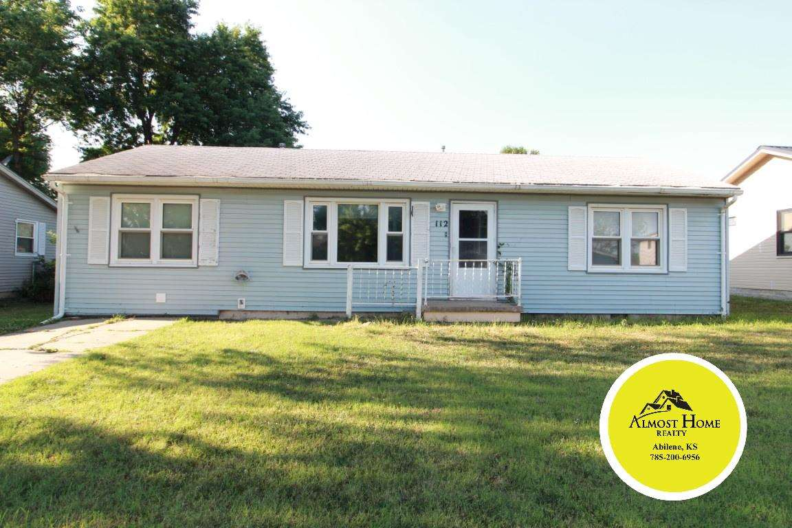Looking for something all on one level in a great location? Look at this 2 bedroom 1 bath home in Herington located on Franklyn Street on the south end of town. The old football field backs up to the property and close to the fair grounds. The garage has been converted to a living room. Give Shelly a call with Almost Home Realty to make an appointment. 785.263.5028.