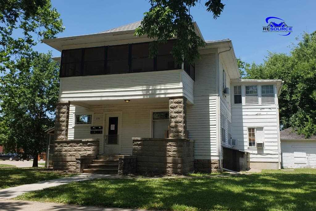 Excellent investment property opportunity. 4 Units ALL Leased! Property is located within walking distance of campus, city park, Aggieville, Poyntz Ave., and many more amenities that is offered in Manhattan. This is a property that can't be missed!    Call Brice at (785) 410-7095!