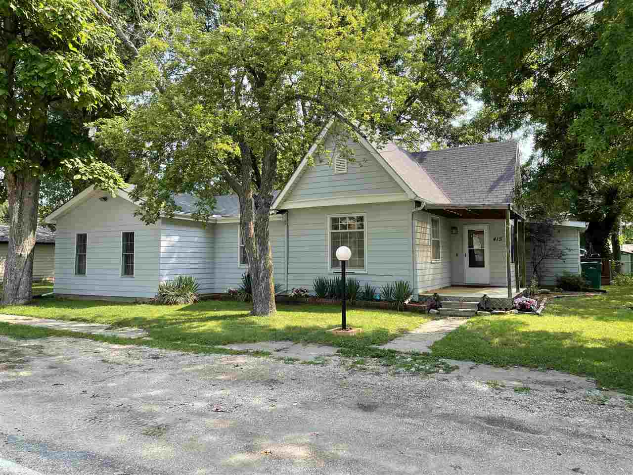 Great location with easy access to Topeka, Manhattan, or Junction City. This home flows well with 4 bedrooms, living room, dining room kitchen, sun room, and 2 bathrooms. Plenty of room. Outside you will find 2 decks to relax and unwind. Fenced in back yard, 30 x 28  garage with heat/air, and extra parking. Call today to setup your personal showing.