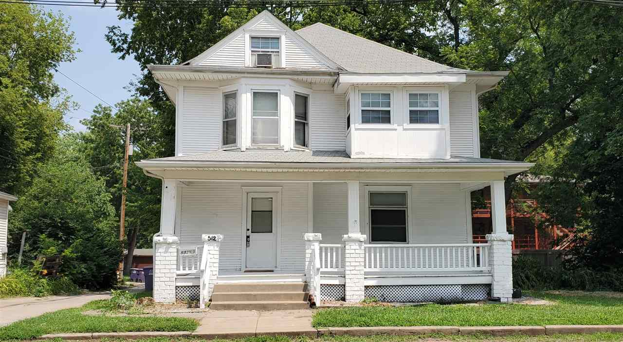 Great investment opportunity or single family home. Centrally located near the KSU Campus, Downtown, Aggieville, and City Park. This property is tenant occupied and leased through July of 2022. Currently rents for $1500/mo. but has a history of higher. The spacious main floor has plenty of room to gather with 2 large living areas, full bath, and kitchen. The second floor features 3 more bedrooms, a full bath and convenient half bath. Don't miss the bonus space on the third floor that could be used as a study or just extra storage. Laundry and 2 more conforming bedrooms are located in the basement. Off street parking available. Pre-inspections have been completed and are available in lieu of a seller's disclosure. For additional information contact Kim Strawn 785-341-4224. 24 hours notice is required for showings.