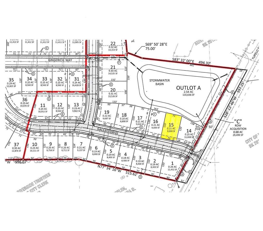 Lot Lot 15 Northern Heights, Riverside, IA 52327