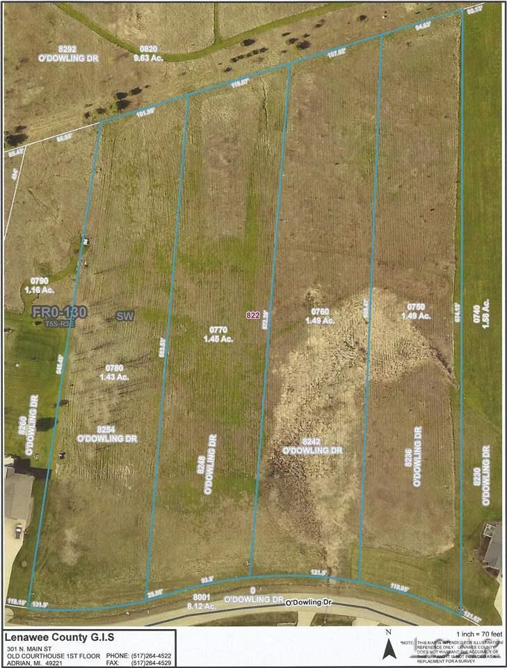 8242 Odowling, Franklin Twp, Michigan 49265, ,Vacant Land / LCAR,For Sale,Odowling,31369591