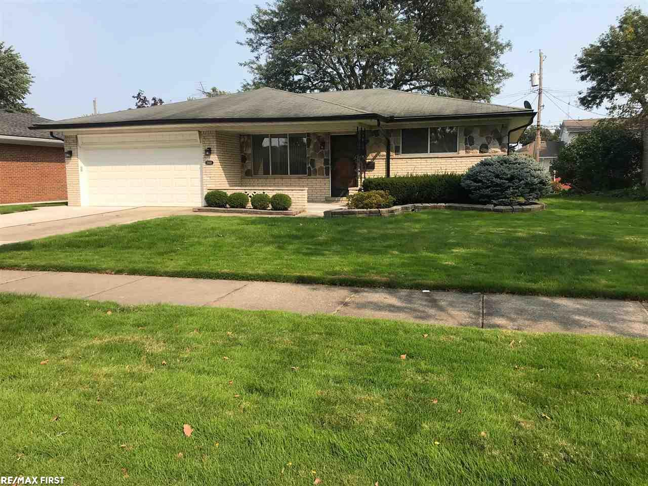 Meticulously clean, tastefully decorated and artistically landscaped describes this 4 sided brick ranch. Furnace and A/C- 2019, gutter and outside lights- 2018 Extra wide driveway and sidewalks, porch, patio, sump pump with back pump is newer. Water proof basement with lifetime warranty transferable with seller paying $150 transfer fee. Newer kitchen, Master suite with full bathroom, Finished basement with wet bar!! Must see to appreciate!! Price and Compare.