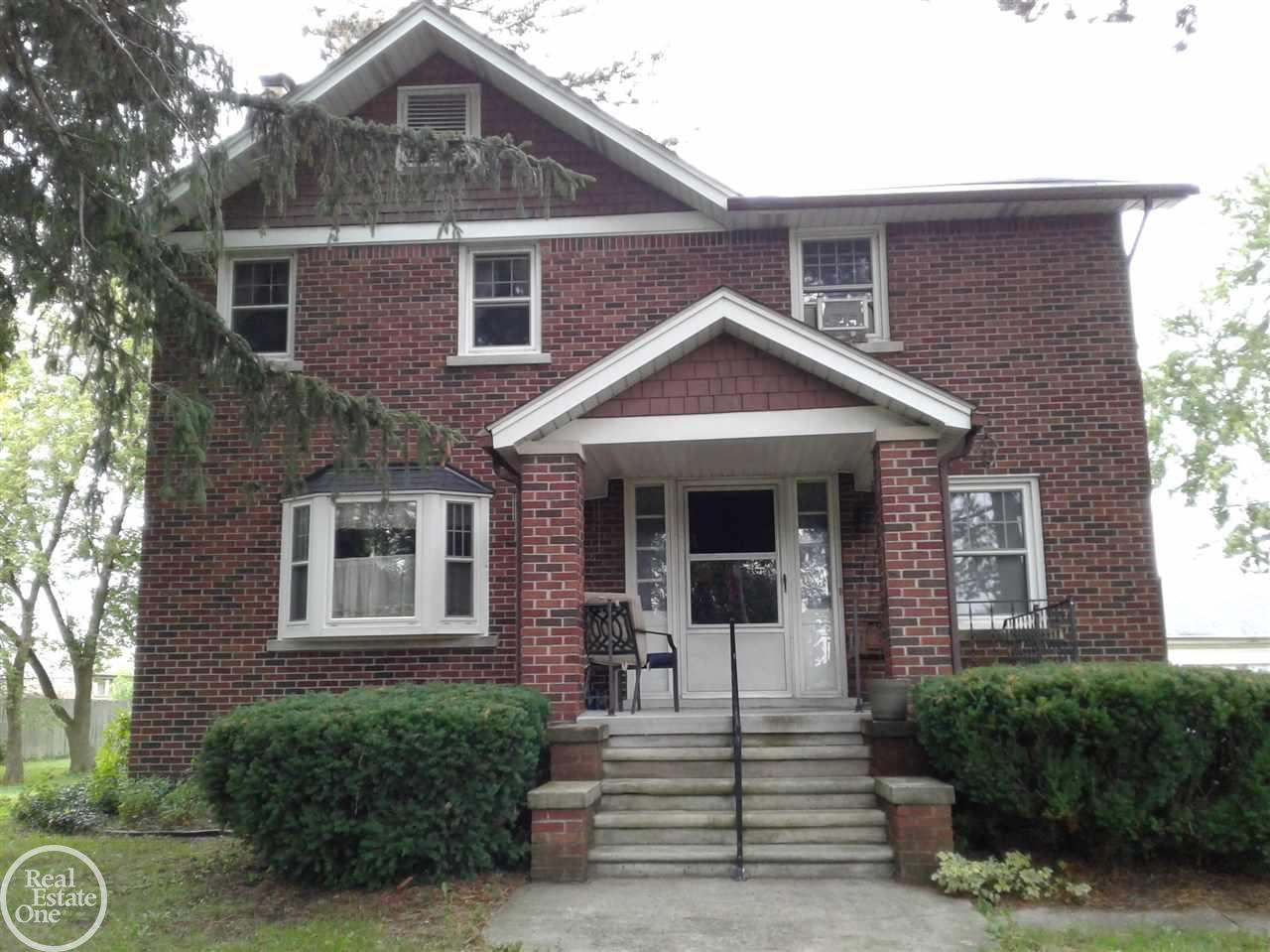 Nice large home that needs some TLC, sold as is, seller to do no repairs. Home has lots or offer and has the old world charm, Hard wood floors, Large bed rooms, Dining room, Living room Tons of storage . Great home for a large family. Buyer and agent to verify all data, room sizes are approx.