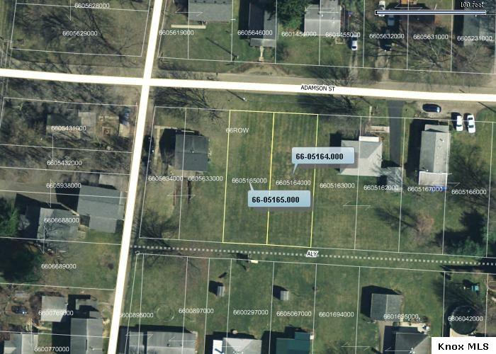 Lots 32 & 33 Adamson Street Knox County Vacant Land For Sale in Knox County Ohio - Mount Vernon Ohio Homes