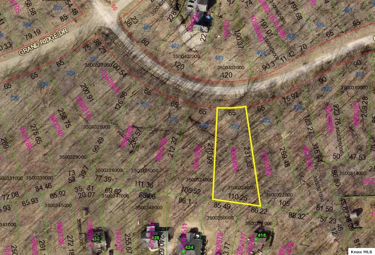 Lot 323 Grand Ridge Estates, Howard, OH 43028