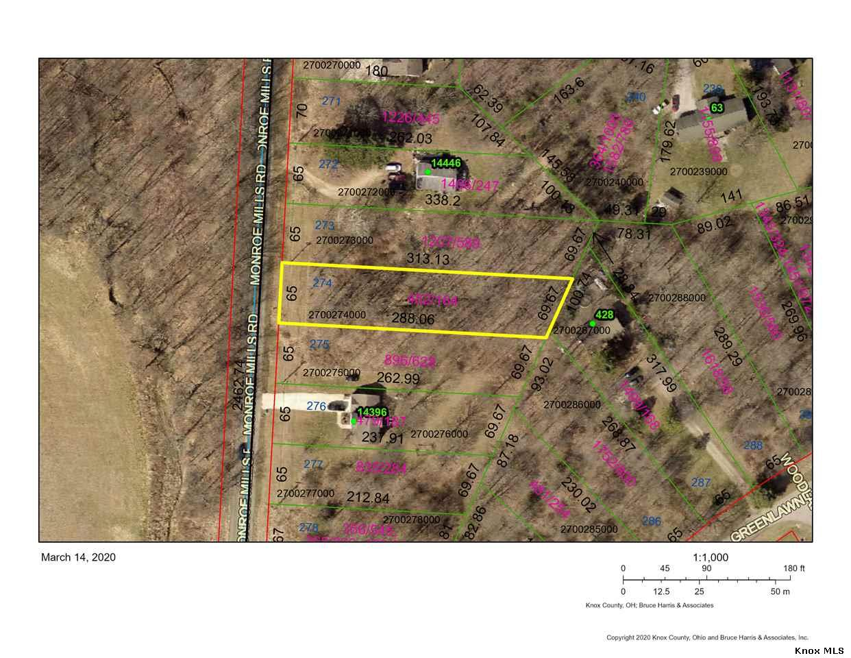 Lot 274 Country Club Manor, Howard, OH 43028