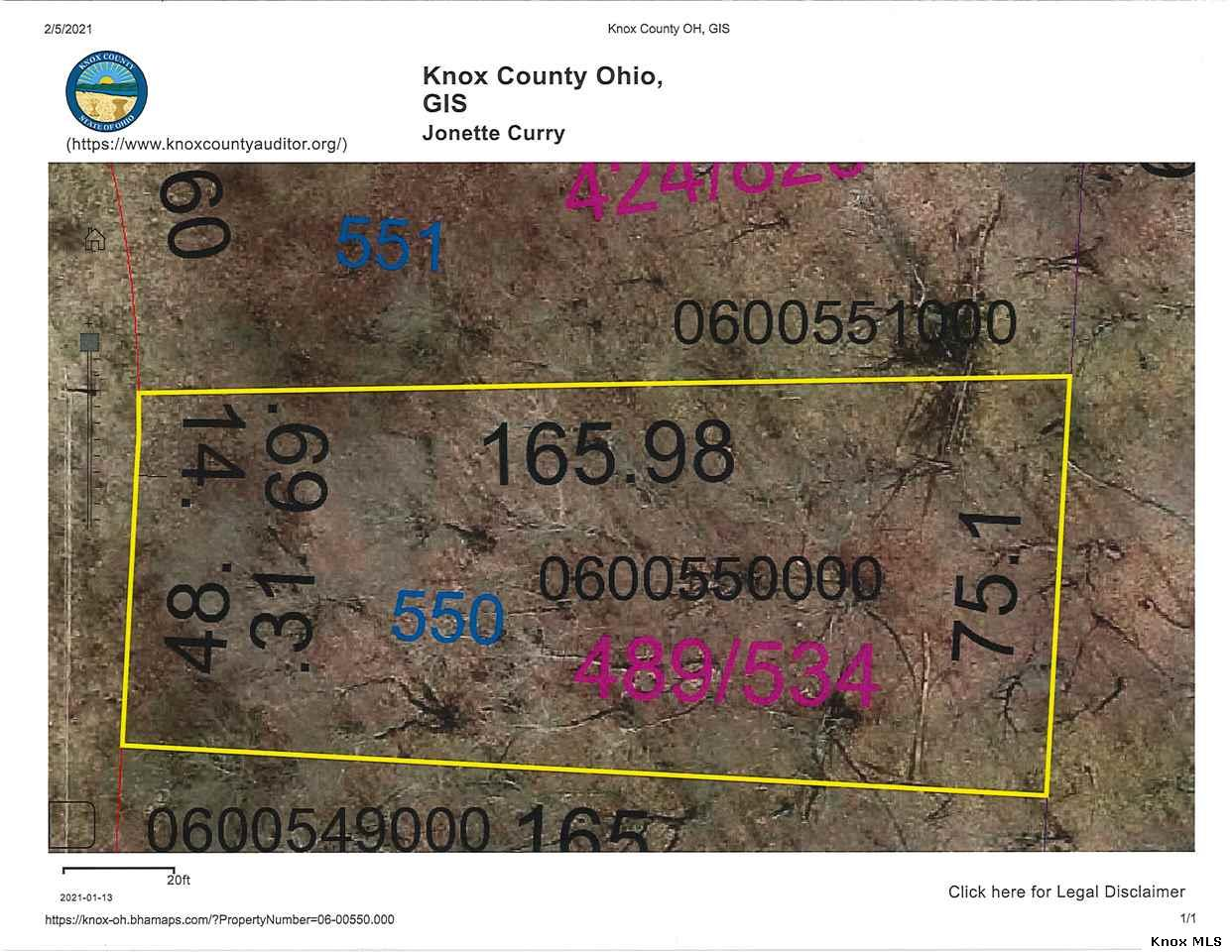 Lot 550 Grand Valley View, Howard, OH 43028
