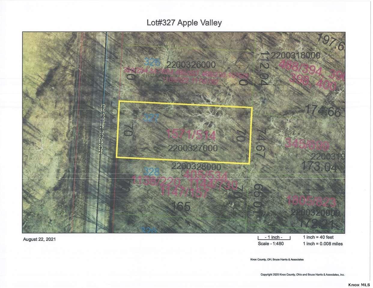 Lot#327 Apple Valley, Howard, OH 43028