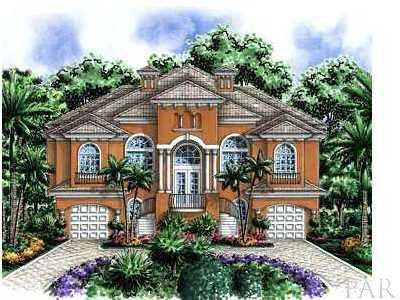 BUILD YOUR DREAM HOME in Navarre's Most Elegant Gated Waterfront and Water Access Community. Tropical Landscaped Entrance, Custom Designed Private Security Gates with Digital Access and Custom Designed Gas Carriage Lighting. Home Constructed by Our Area's Finest Builders. Listing Broker/Salesperson has ownership interest in the property.  *HOUSE SHOWN IS A RENDERING*