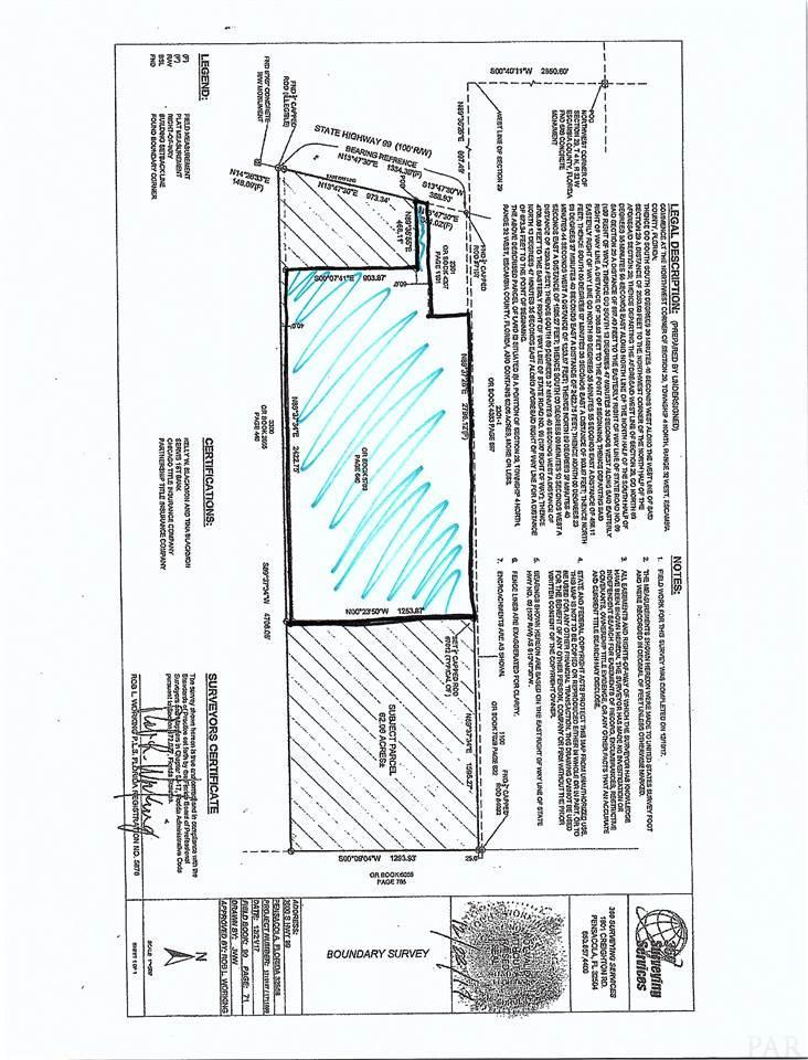3600(2) Hwy 99, Walnut Hill, FL 32568