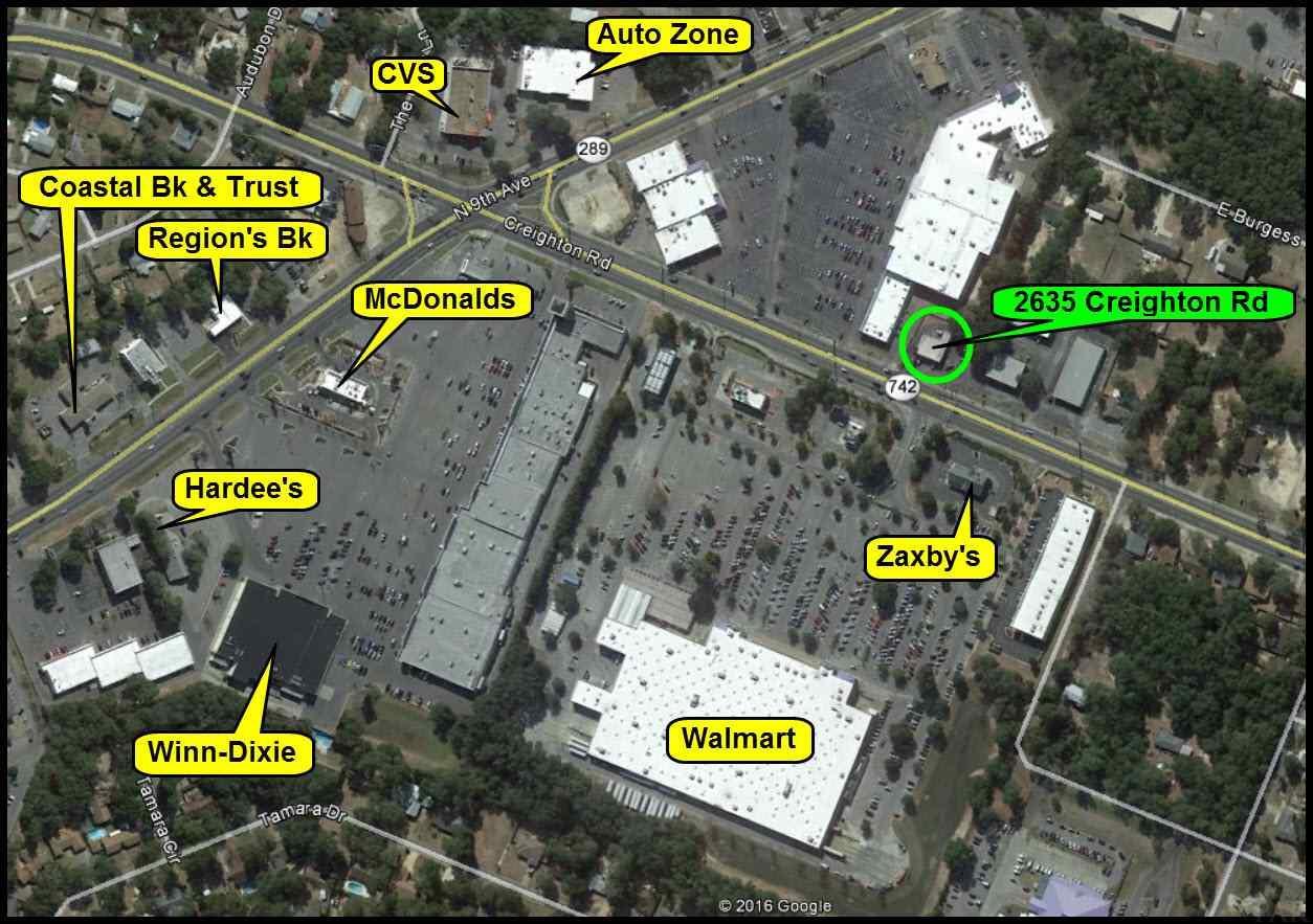 2635 Creighton Rd, Pensacola, FL 32504