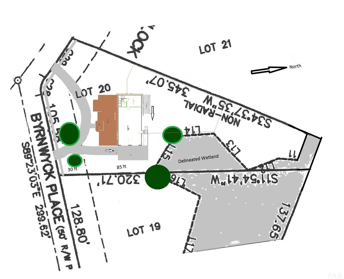 Lot 20 Byrnwyck Place, Pace, FL 32571