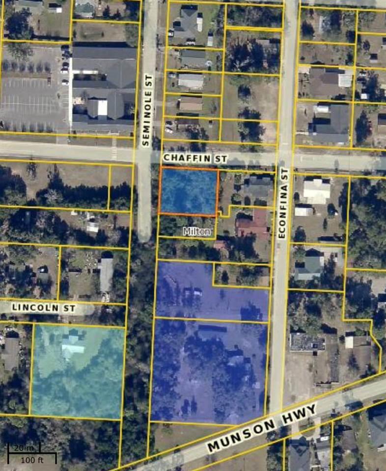 Lots 5 & 6 Chaffin St, Milton, FL 32570