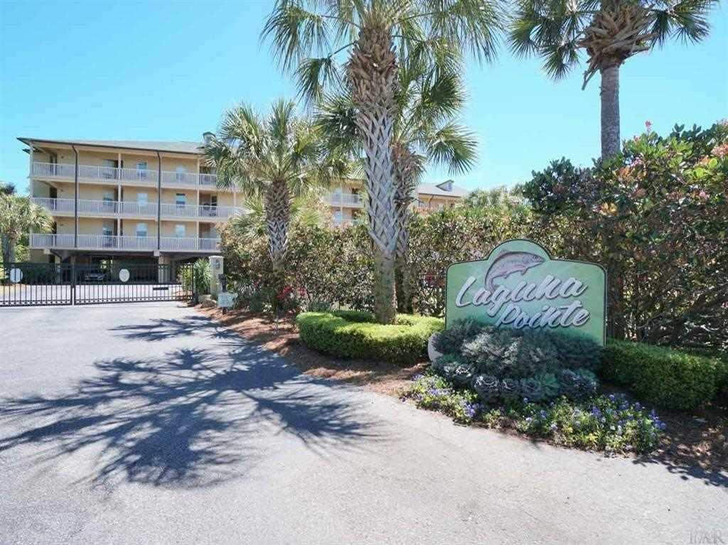 QUIET AND SECLUDED CONDO IN A CAREFULLY PLANNED LOW RISE LUXURIOUS CONDOMINIUM COMPLEX OVERLOOKING THE NATURE PRESERVE WITH WATERVIEW OF INTRACOASTAL WATERWAYS.  ACCESS TO THE GULF VIA INTRACOASTAL WATERWAY AND PENSACOLA PASS.  ENJOY THE LIFESTYLE YOU DESIRE IN THIS CAREFREE & STYLISH THREE BEDROOM TWO BATH HOME WITH THE FOREVER VIEWS OF THE SAILBOATS, YACHTS, BARGES AND THE WILDLIFE.  SPARKLING POOL, AND PIER FOR FISHING.