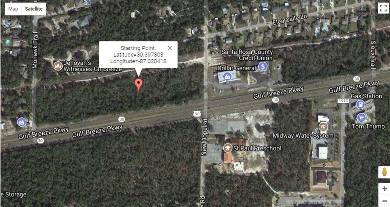 Gulf Breeze Florida Map.4900 Gulf Breeze Pkwy Gulf Breeze Fl 32563 Homes For Sale