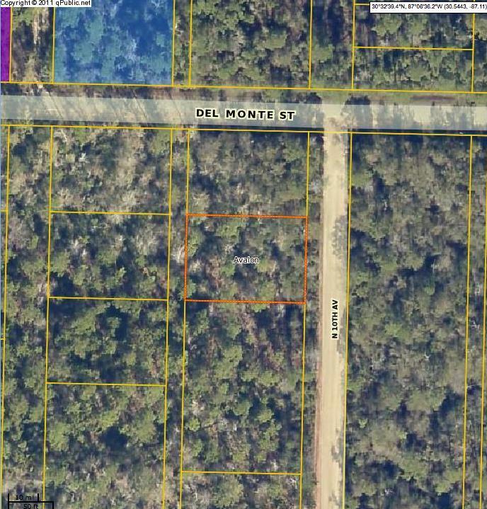 Lots 3 & 4 N 10th Ave, Milton, FL 32583