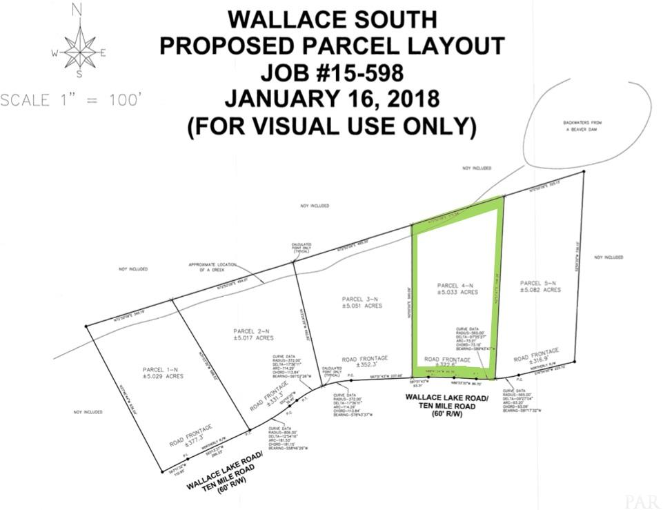 Lot 4-N Wallace Lake Rd, Pace, FL 32571
