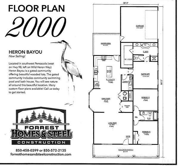 1300 Heron Inlet, Pensacola, FL 32506