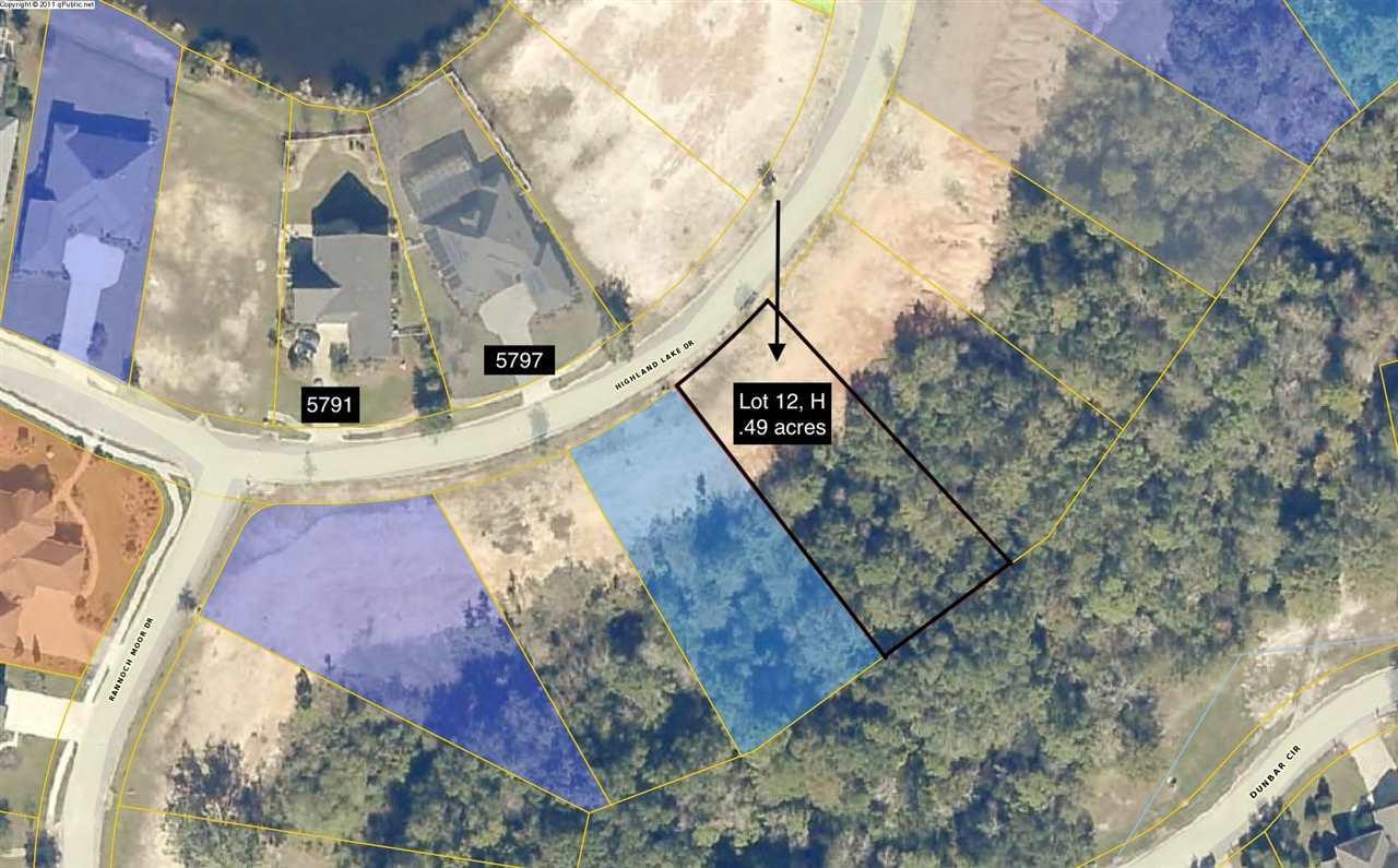 Lot 12-H Highland Lake Dr, Milton, FL 32583