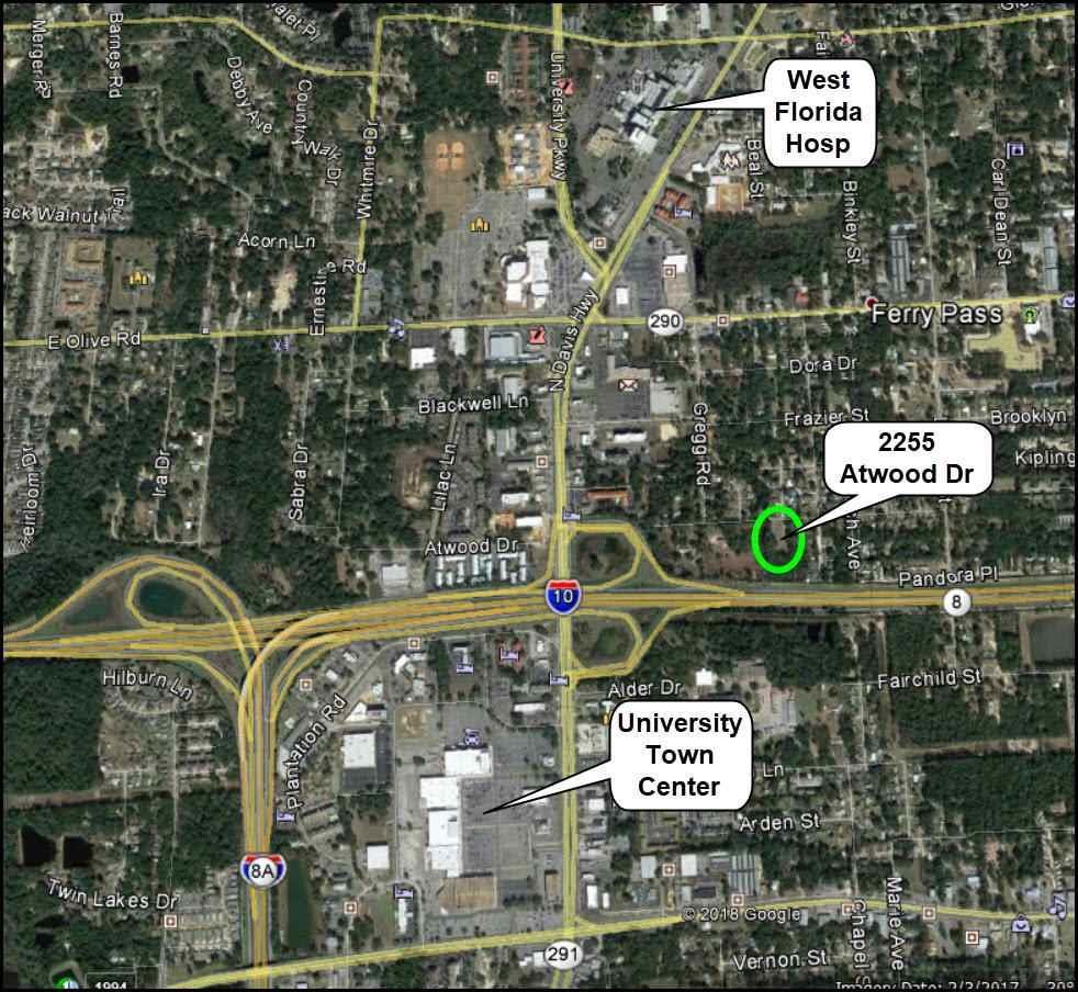 2255 Atwood Dr, Pensacola, FL 32514