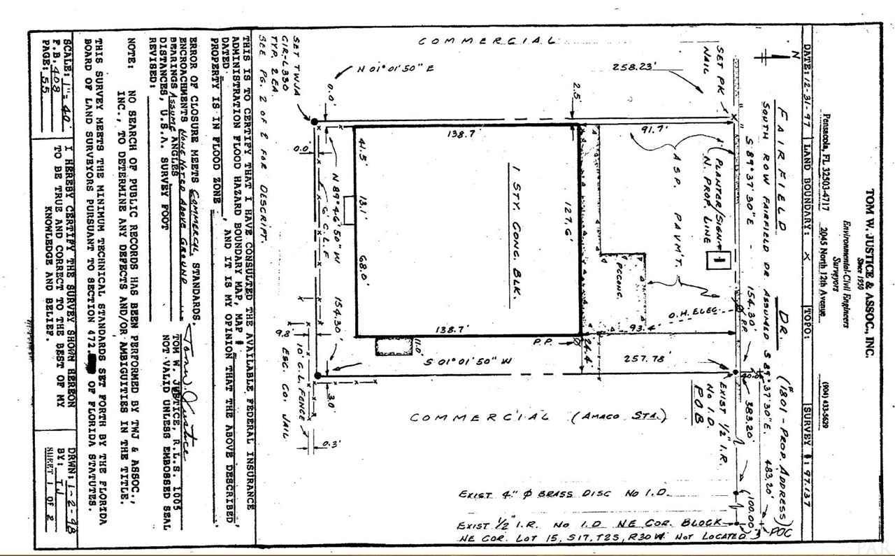 1801 W Fairfield Dr, Pensacola, FL 32501