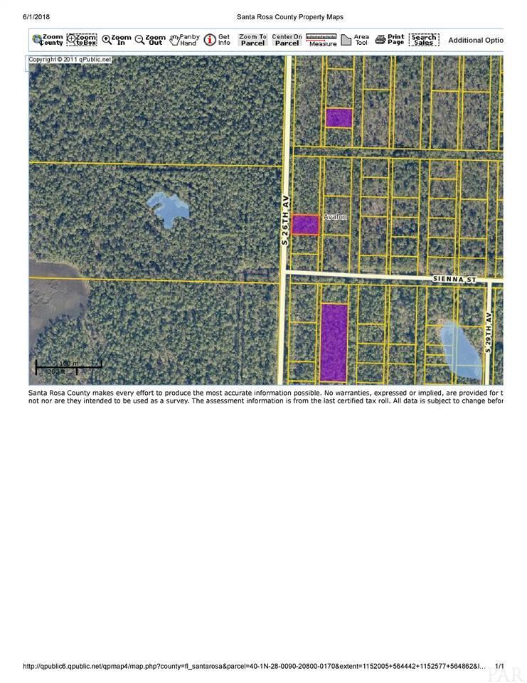0170 Pid S 26th Ave, Milton, FL 32583