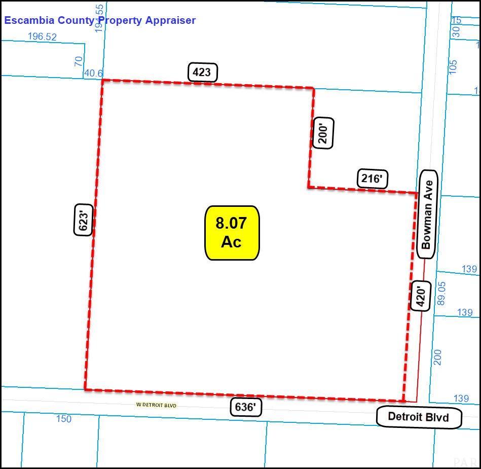 8365 Bowman Ave, Pensacola, FL 32534