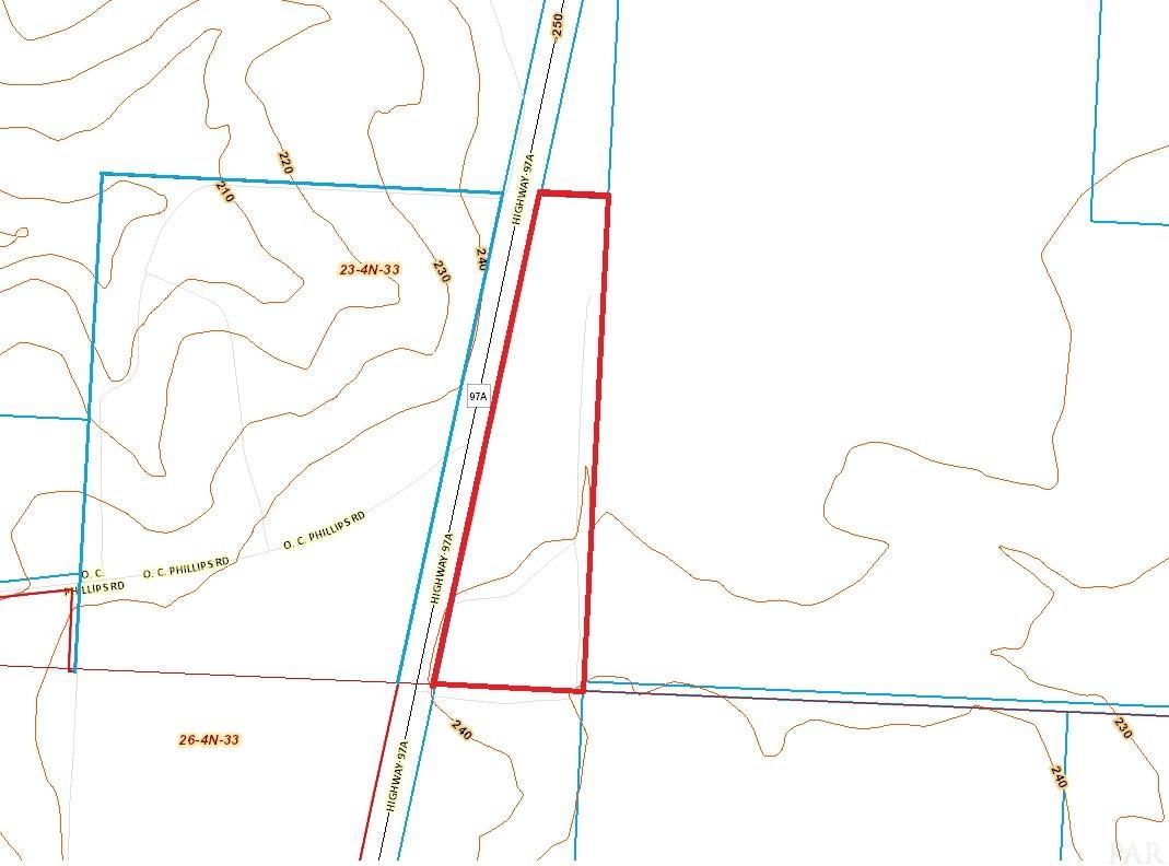 0 Hwy 97 A, Walnut Hill, FL 32568