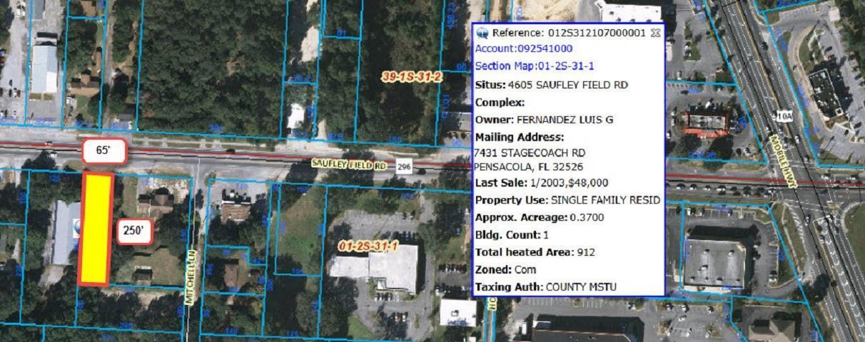4605 Saufley Field Rd, Pensacola, FL 32526