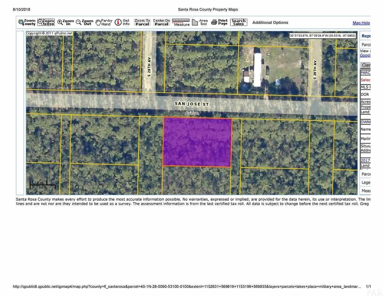 Lot 23 Blk 237 S 28th Ave, Milton, FL 32583