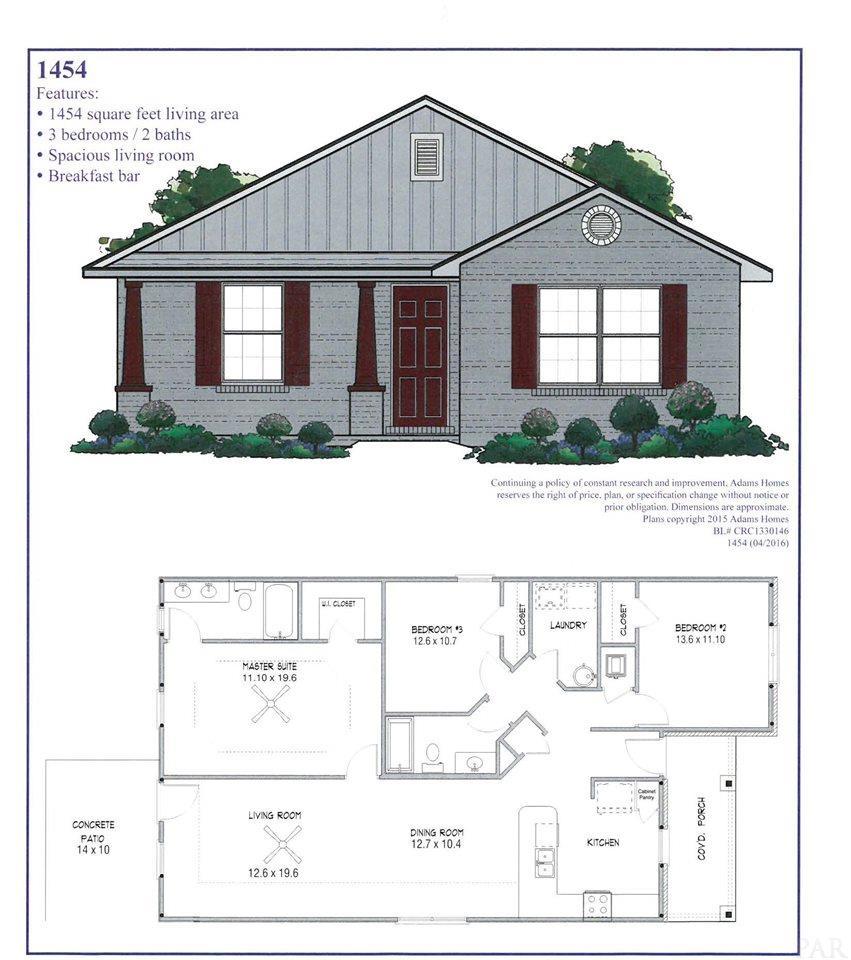5148 Carmell Ridge Cir, Milton, FL 32570