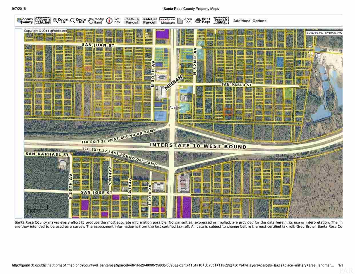Blk 398 Lot 9 34th St, Milton, FL 32583