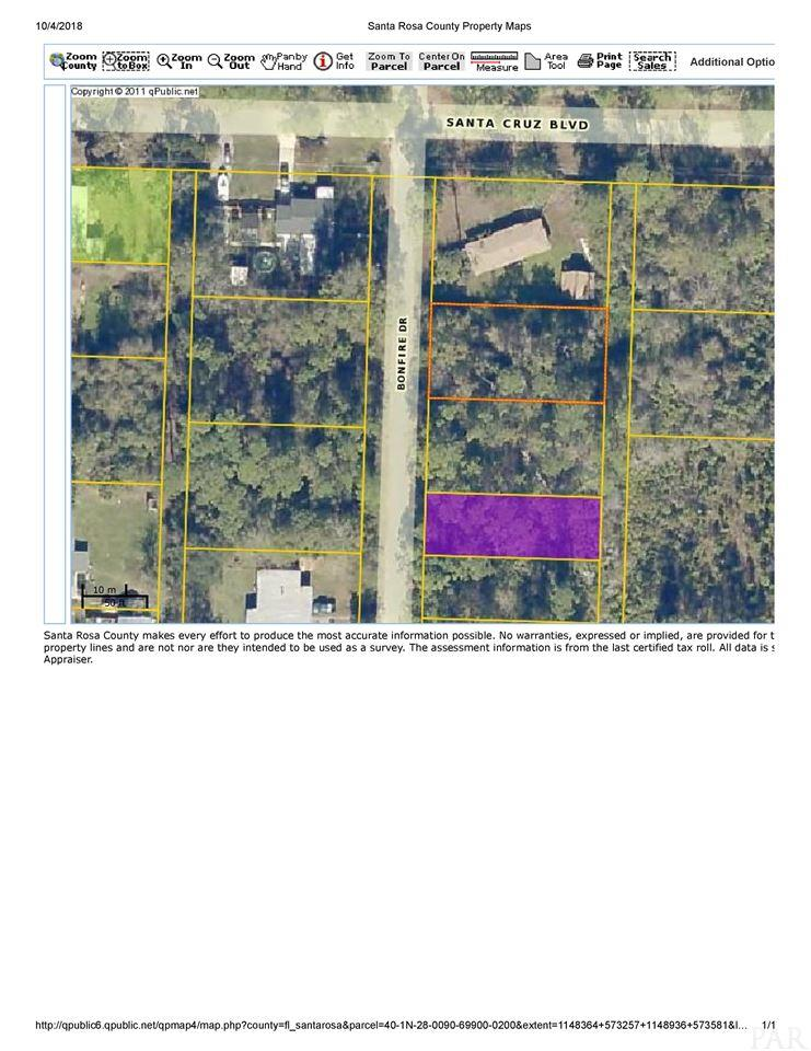 Lot 20 Blk 699 Bonfire Dr, Milton, FL 32583
