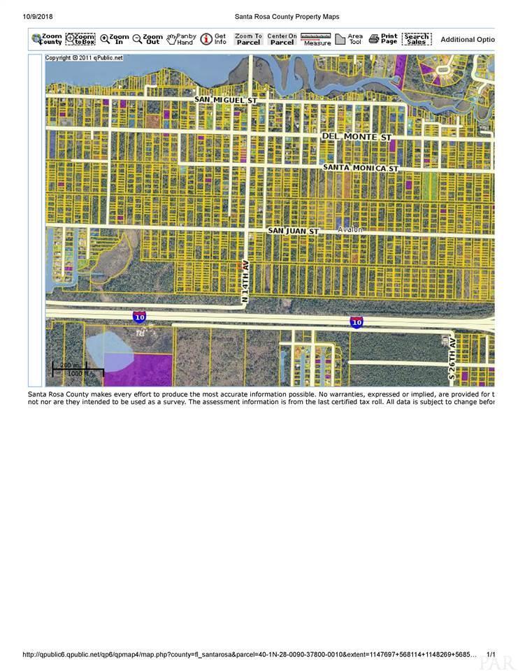 Lot 1 Block 378 N 14th Ave, Milton, FL 32583
