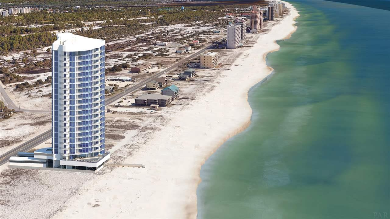 This is a one of a kind condo that has ALL of the bells and whistles and there is nothing like it anywhere near here! The project butts up to two miles of State Park enabling the owner to enjoy uninhibited sunsets and virgin footprints in the sand to the west. 21 stories, one unit per floor and only 19 residences.  This will be the first residential condo in the area to offer the City Lift Puzzle Parking System and View Dynamic Glass. Each residence receives two assigned parking spots. Press the fob on your key ring and your car(s) will be ready when you arrive downstairs. The View Dynamic Glass is an intelligent window that reduces energy consumption, adjusts to the environment and allows natural light to come in. It also eliminates the need for any window treatments. State of the art kitchen featuring Quartz countertops, and Thermador, Bosch and Scotsman appliances. Amenities include an elevated outdoor infinity pool and a heated indoor pool with jacuzzi, fitness center, theater, lounge for entertaining, grilling area, dog run with artificial eco-grass, bicycle racks and more! This is a whole new level of luxury for this part of the Gulf Coast!  Here is a link to it ...  https://app.agentshield.com/go/29763?as=BgYyzNRqXdY%3D  NEED NOT BE BUILT