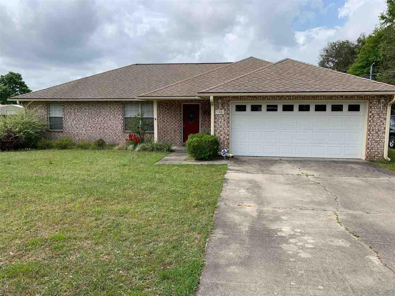 Very well maintained home with large half acre lot with nice pool, 2 yr. old liner, nice yard, patio, 18 x 22 storage building in back with 2 windows, cathedral ceilings, 8' entrance with Roll Up door.  Seller installing new carpet throughout builder grade by mid May or closing.  Septic tank inspected and cleaned 2 years ago, 2 car garage with shelving....great house move in ready!  This 3 bedroom /2 bath home has private Master Suite with full bath, double vanities, separate shower and tub, linen closet and very cozy!  The other two bedrooms are on the other side of the home and share full bath.  The home is not in an HOA that is mandatory. No HOA restrictions or payments.  The refrigerator and washer/dryer do not convey.  Home appliances in great working condition and home professionally cleaned with the new carpet prior to closing!  Call today for easy show!