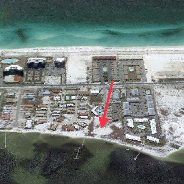 Rare 1.8 Acres with over 300' Waterfront  on the Santa Rosa Sound on Navarre Beach !