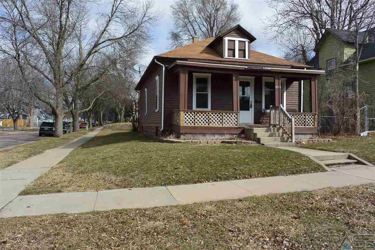 Well maintained ranch that still has the charm of a historical home.  Two rooms in the basement could be used for office or guest room.  Main floor laundry, new carpet and paint make this a great starter home.  Other updates include electrical panel and exterior paint.  Large yard that connects to alley for off street parking.