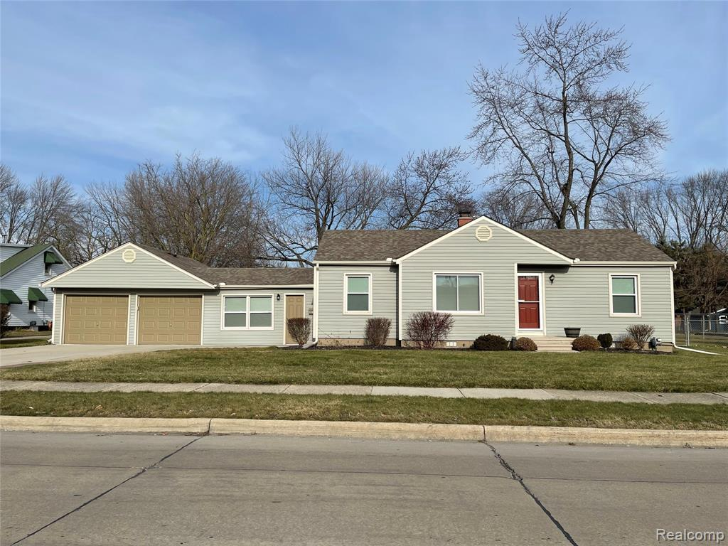 Start Your Next Chapter Here..this move-in ready home has unique features and is a rare find in St. Clair Shores, you don't want to wait on this one. As you drive up to the home you will see the new vinyl siding, new garage doors, and the very large lot. This home sits perfectly on over 1/2 acre with a large amount of it in the backyard. There is a parcel (see docs) that's located behind the property that cannot be built on, but it can be purchased from the city by the new owners. All features of the home have been updated beginning in the garage with the epoxy floor, electrical panel, and heater. Enjoy your morning coffee in the breezeway that connects the garage and home (TV located in the breezeway will be left for the new homeowners). List of updates located in listing docs. Don't miss the opportunity to own this charming, well-maintained ranch close to shopping, the freeway and just minutes from the lake. More pics, video and virtual 360 coming soon.
