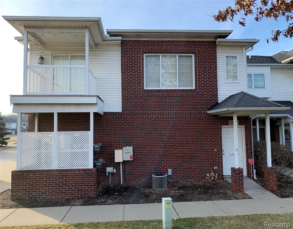Come check out this impeccable private upper unit with a balcony! Remodeled in Dec/2020 with new; floors, paint, recess lights, carpet and updated kitchen with granite tops. Great Samsung appliances and a new water heater 12/2018. Great location just south of M59, Utica School district. You don't want to miss this one!