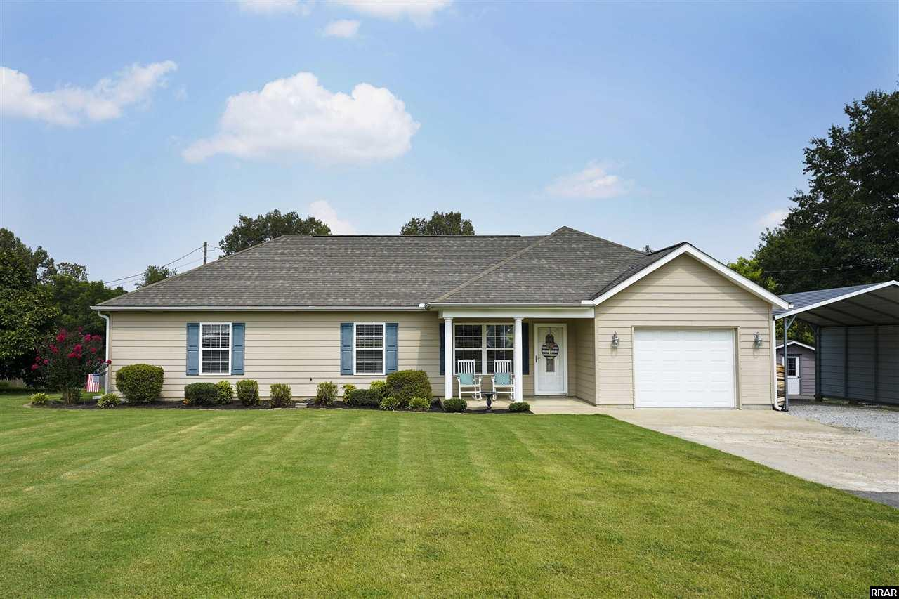 Cozy 3 bedroom home in Dyer waiting to welcome you home! This vinyl sided home has plenty to offer which includes fenced back yard, spacious rooms, attached garage, detached carport, and more! This could be your forever home but you won't know if you don't go! So call me today and let me unlock the door and show you inside.