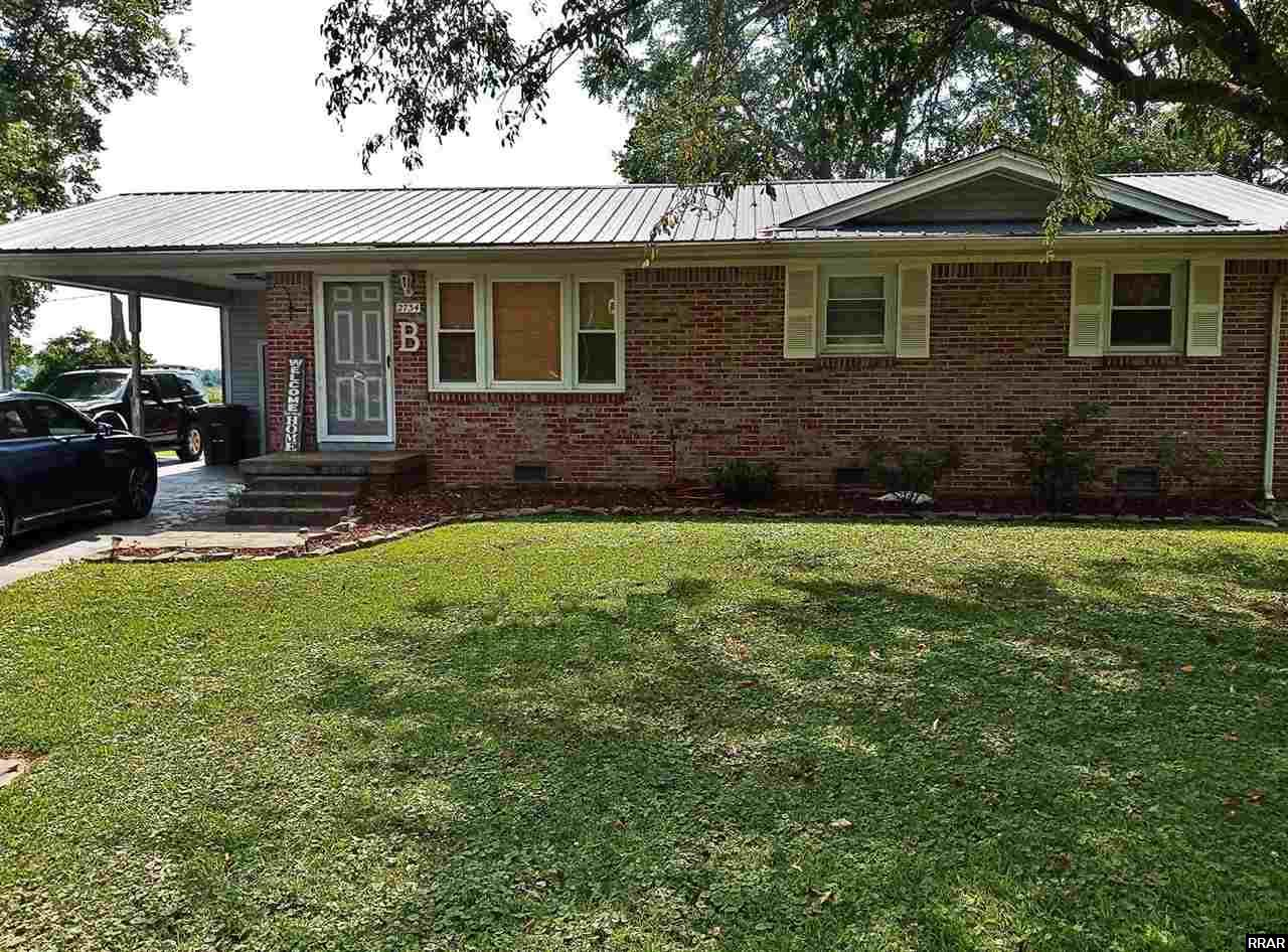 Home sweet home awaits you in this beautiful 3/4 bedroom 2 bath brick home.  It is located at the end of a cul-de-sac and has great space for bbqing and entertaining.  Bonus room off of the master bedroom is a definite plus!  Unlimited possibilities-This home comes with all appliances and a one year home warranty.  Call today to see for yourself it won't last long!    Buyer is responsible for checking square footage and acreage. Listing agency is not responsible for inaccuracies.