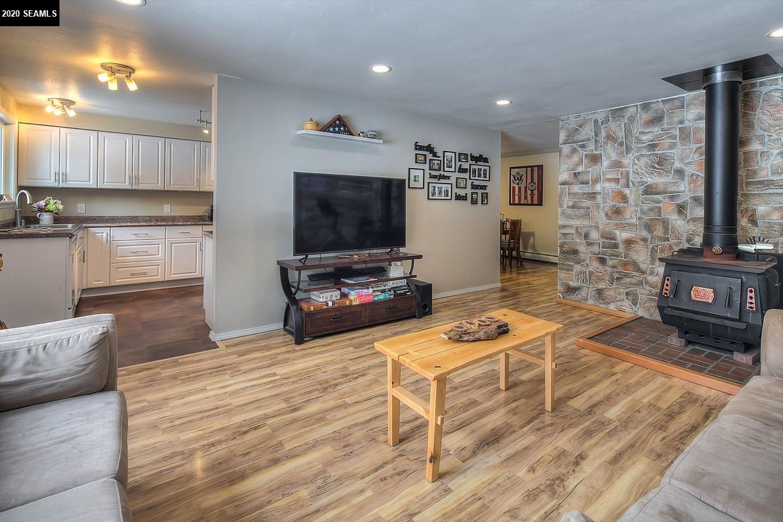 Living Room w/wood burning stove