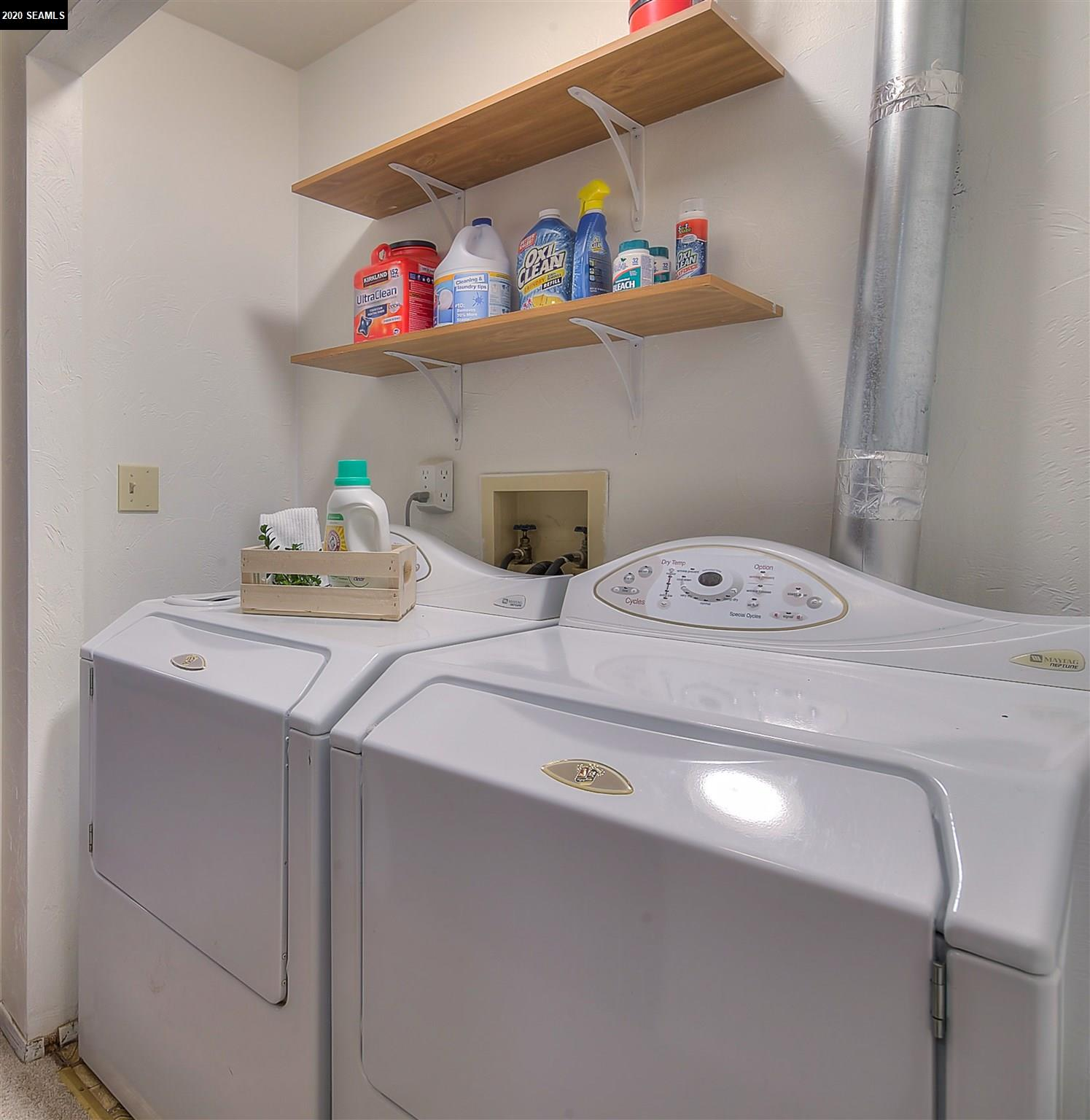 Laundry Space Upstairs