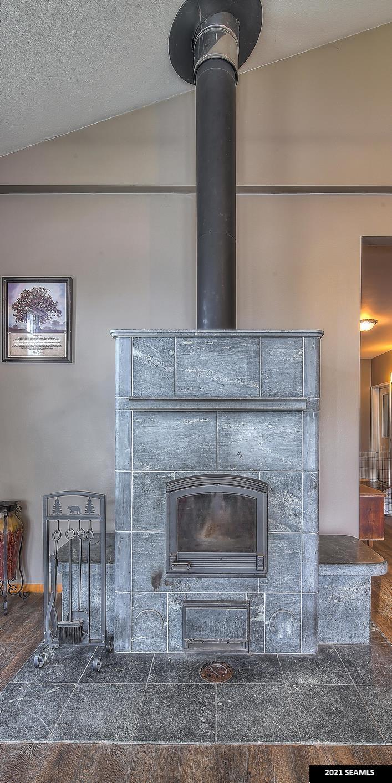 Tulikivi Soapstone Fireplace